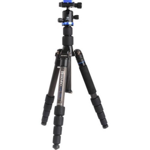 Benro iFoto Series 1 Carbon Fibre Tripod Kit with IB0 Head